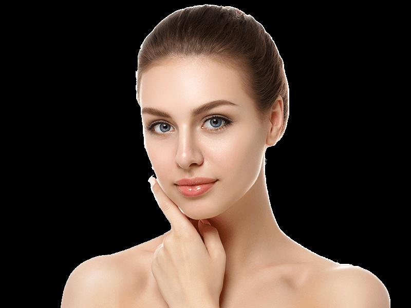 Depilación facial permanente láser